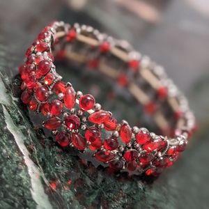 Beautiful Ruby Stones Bracelet